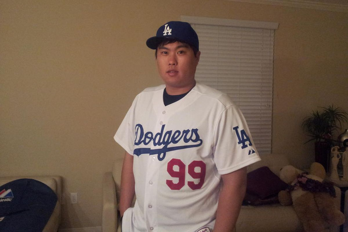 Ryu is the second Dodgers player ever to wear number 99, joining Manny Ramirez.