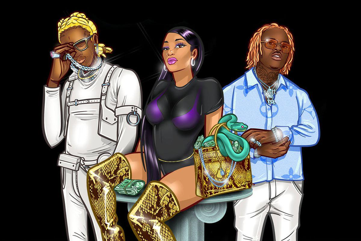 Young Thug, Karlae, and Gunna