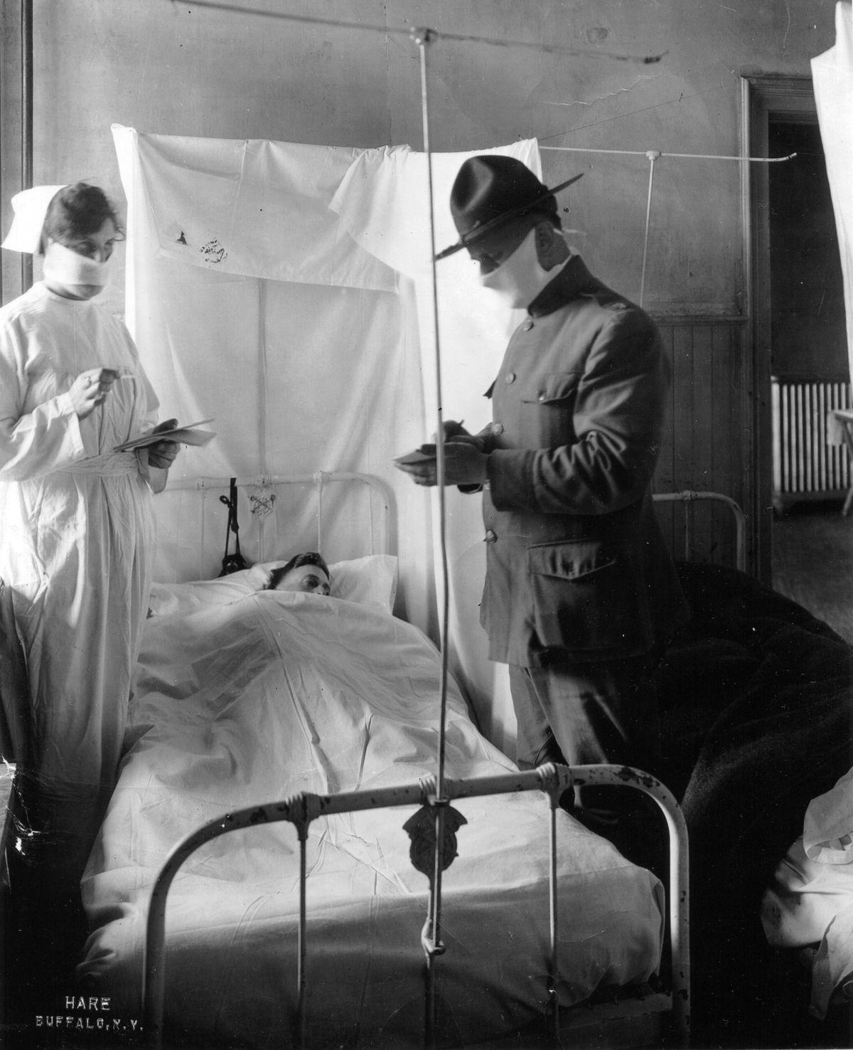 Flu Epidemic - Hospital