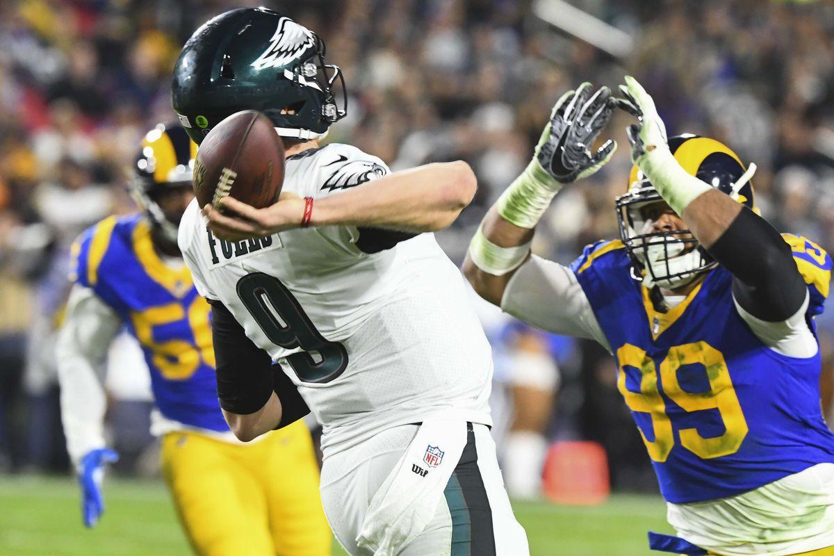 fbc2584f5f43 How did the Eagles upset the Rams  - Bleeding Green Nation