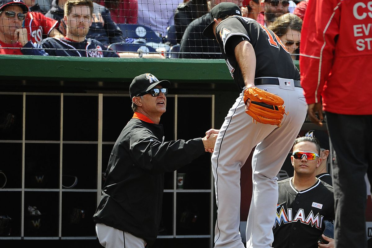 12b99e61aa5 Miami Marlins manager Don Mattingly being praised for stability ...