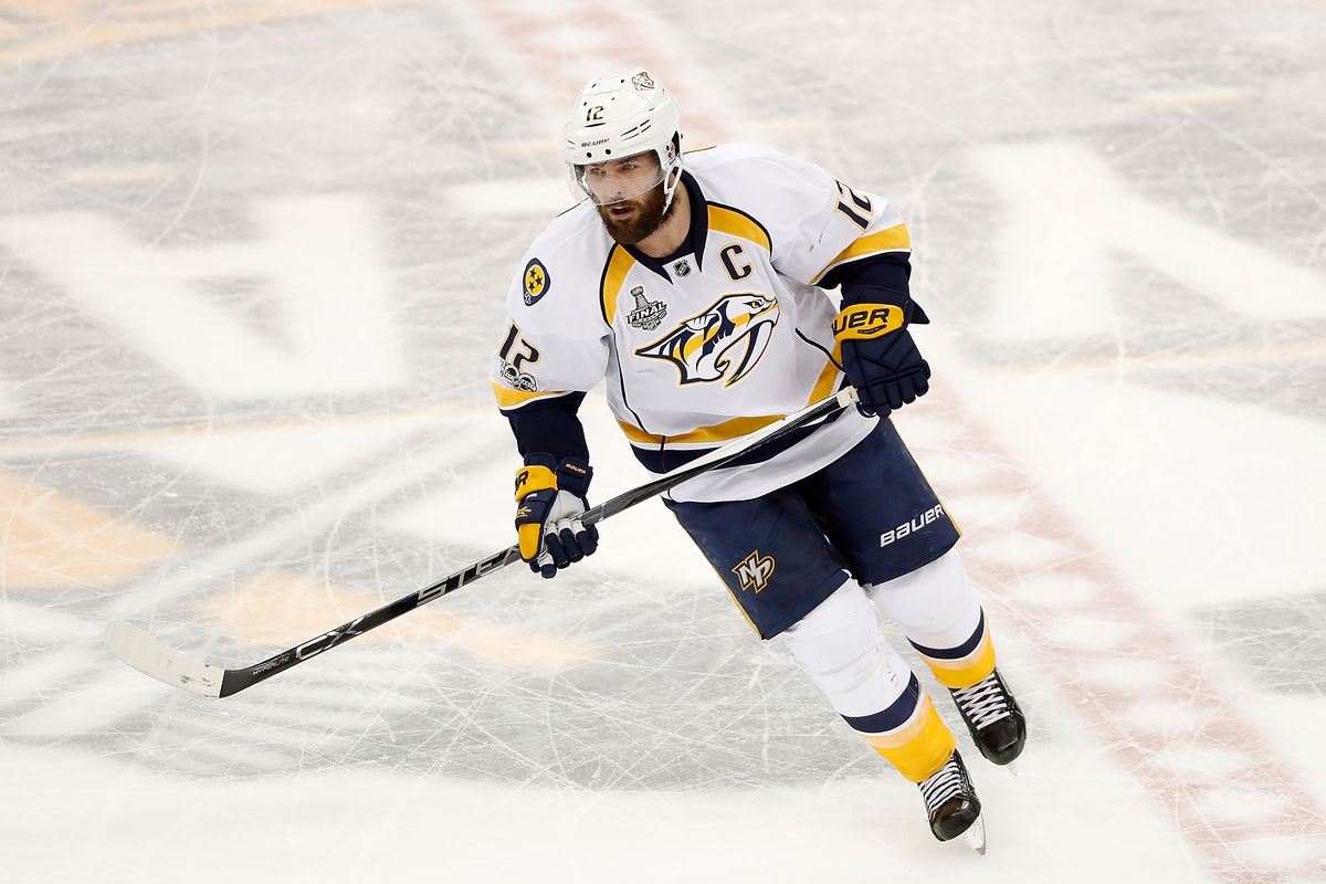 new photos a11f2 c195f Mike Fisher exits retirement to return to Nashville ...