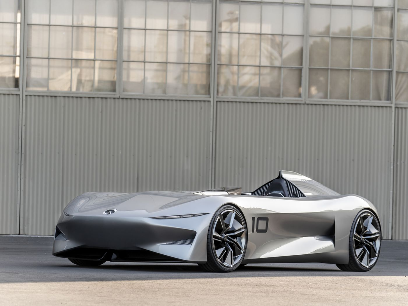 Infinitis New Electric Concept Car Can Only Be Described As Vintage