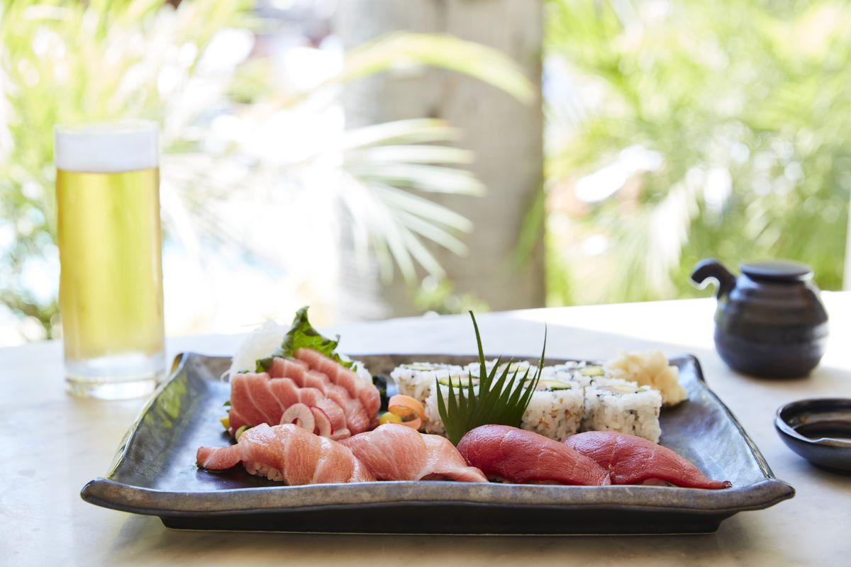 Bluefin tuna platter at Soko.
