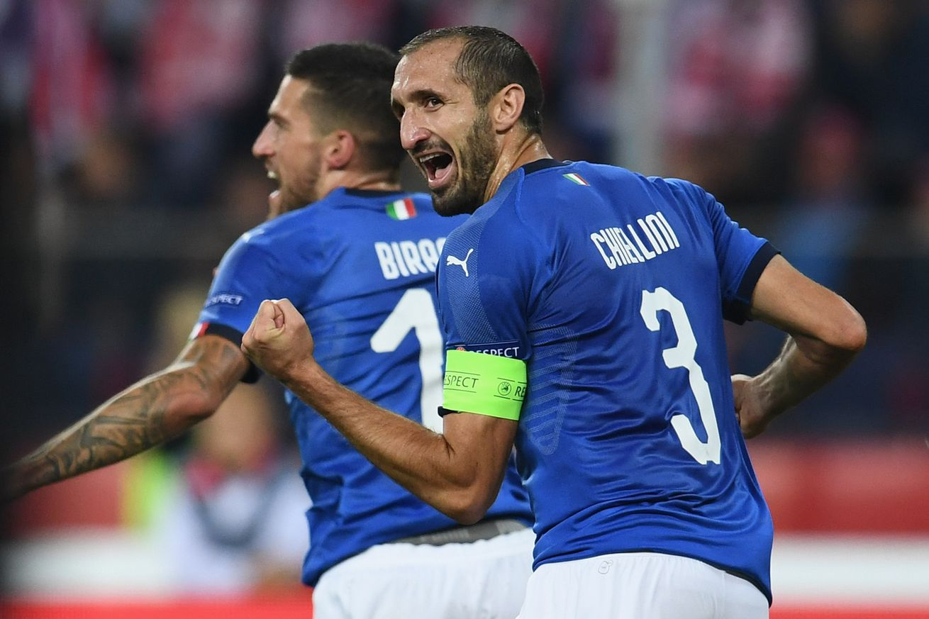 UEFA Nations League Game Time Thread: Italy vs. Portugal