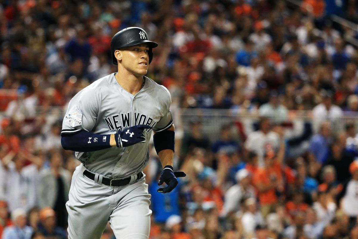 Aaron Judge defied NASA equations by hitting roof of Marlins Park