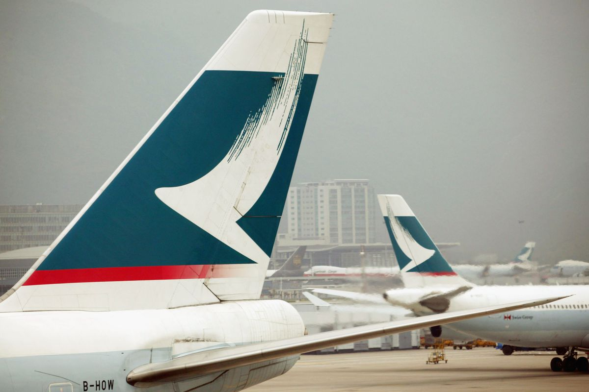 Major airline Cathay Pacific says up to 9 4 million