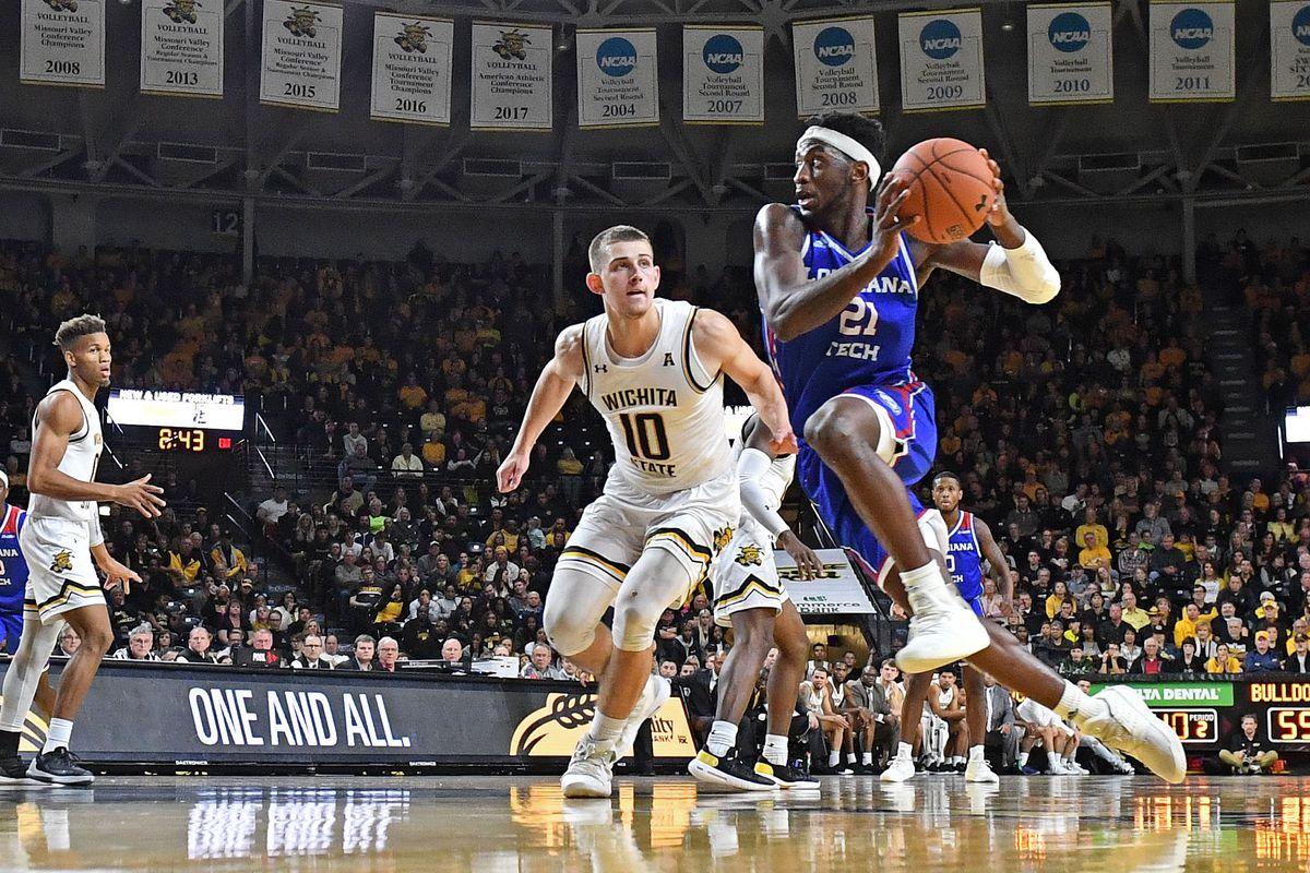 NCAA Basketball: Louisiana Tech at Wichita State