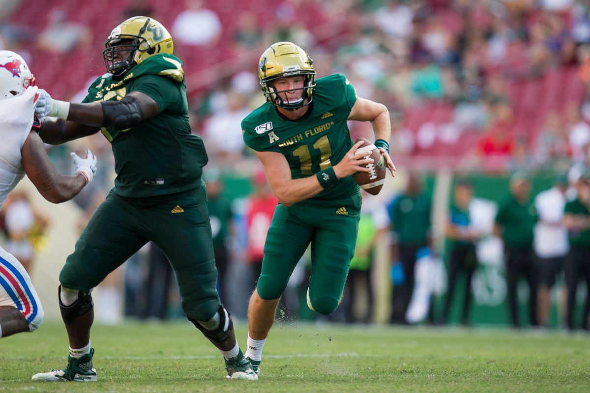 COLLEGE FOOTBALL: SEP 28 SMU at USF