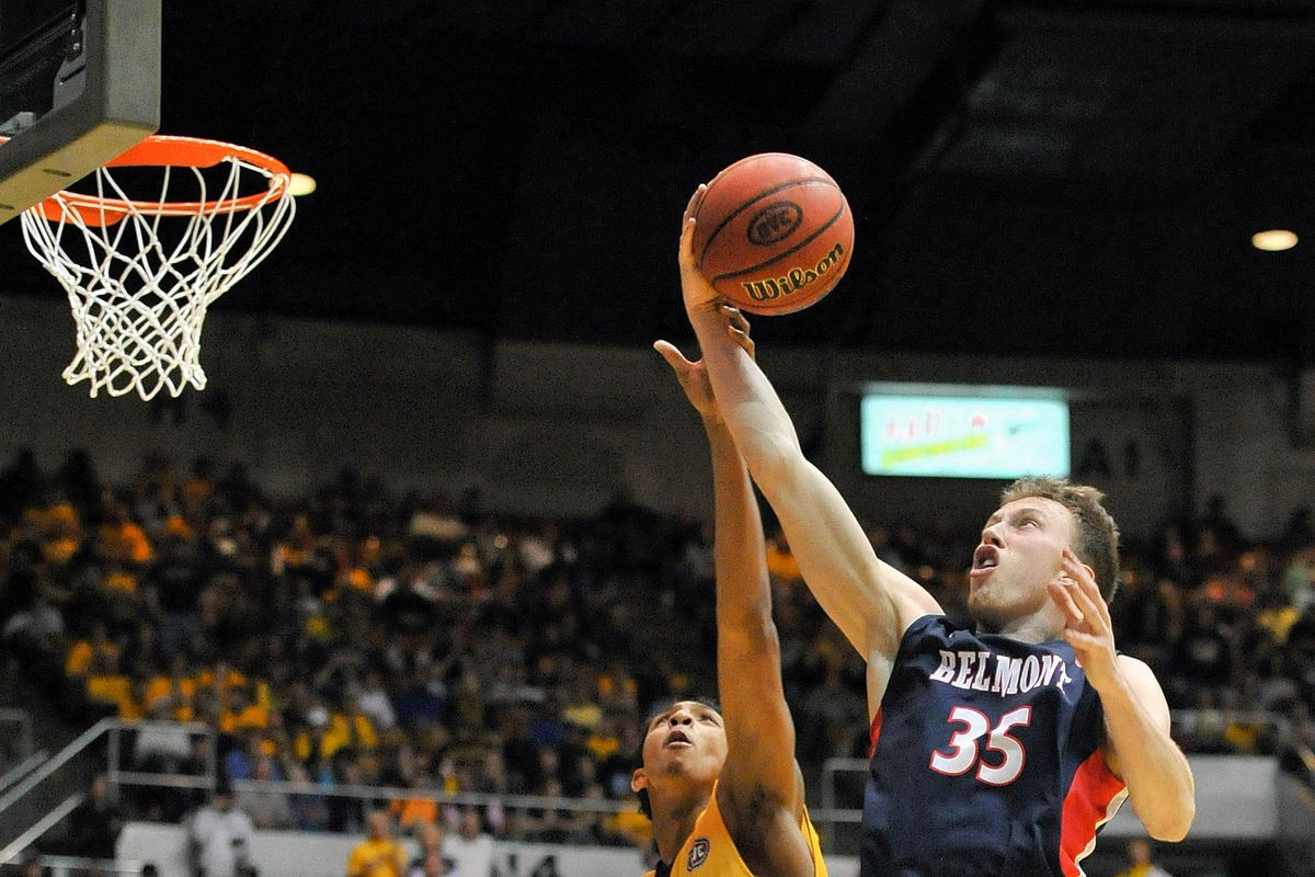 Evan Bradds had a big-time opening night for Belmont who was on the road at Marquette to open the year.