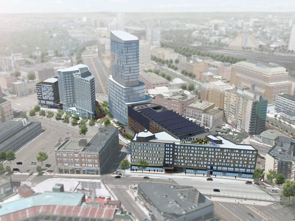 Fenway Center rendering