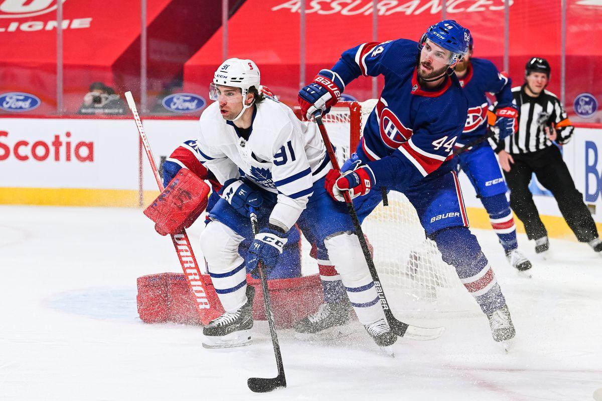 NHL: FEB 20 Maple Leafs at Canadiens