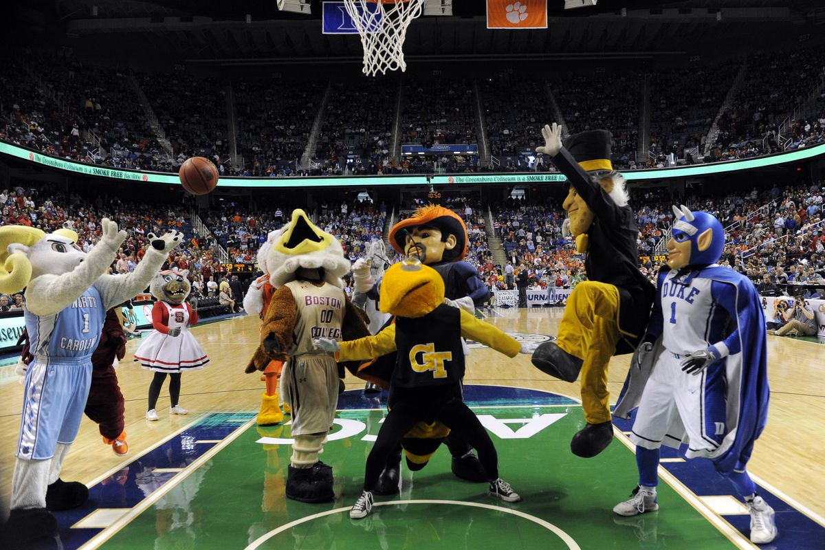 ACC mascots are ready to get things going