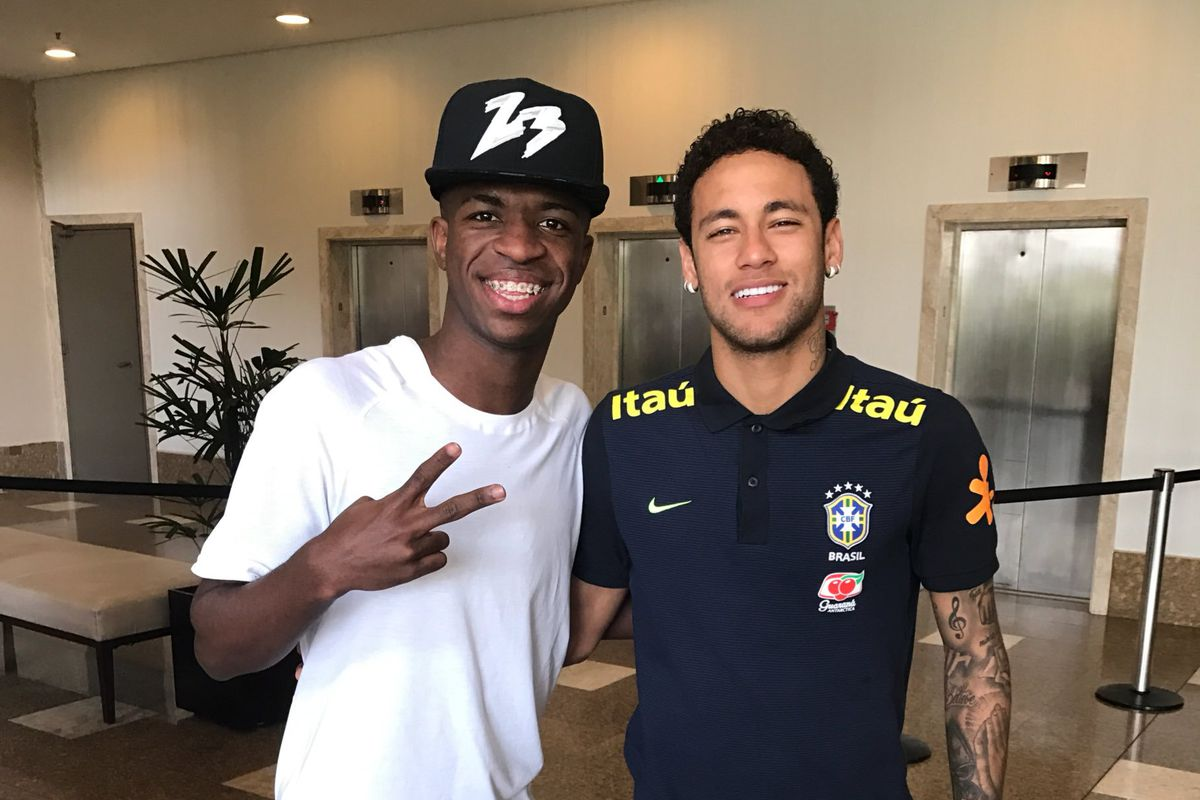 Neymar defende Vin�cius Jr ap�s provoca��o do flamenguista