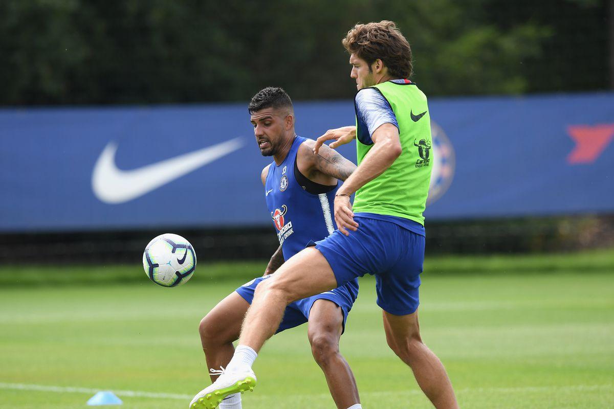 Chelsea Pre-Season Training Session