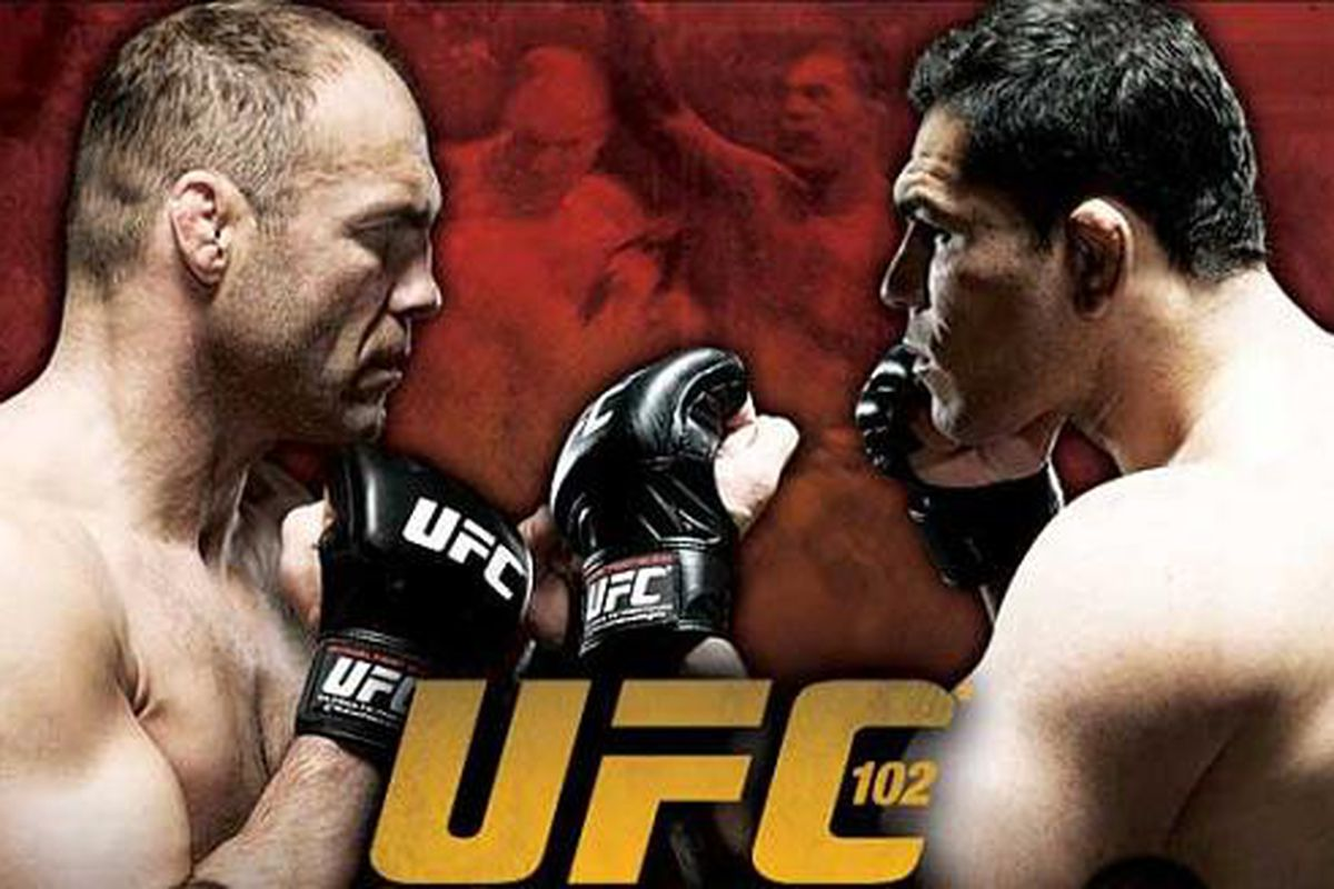 """UFC 102 is the main attraction in combat sports this weekend, and <a href=""""http://www.bloodyelbow.com/2009/8/29/1006597/ufc-102-randy-couture-vs-antonio"""" target=""""new"""">BloodyElbow.com</a> will have live, round-by-round coverage of the event tonight."""