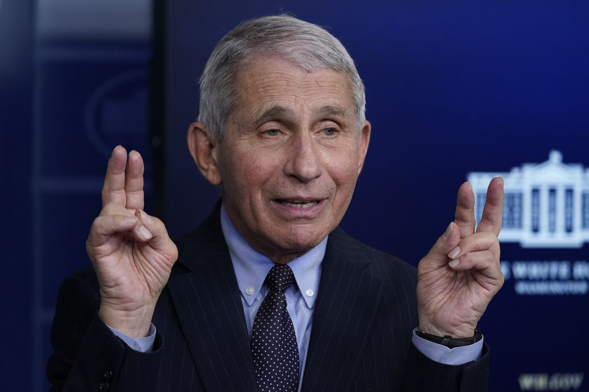 COVID-19 vaccine shot knocked Dr. Fauci out for 24 hours - Deseret News