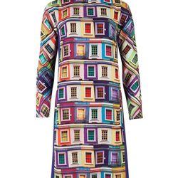 "Jupi Window Dress, <a href=""http://www.tedbaker-london.com/store/womens/rainbow-viewpoint-dress-GD26-WS3W-JUPI-65.html"">$248</a>"