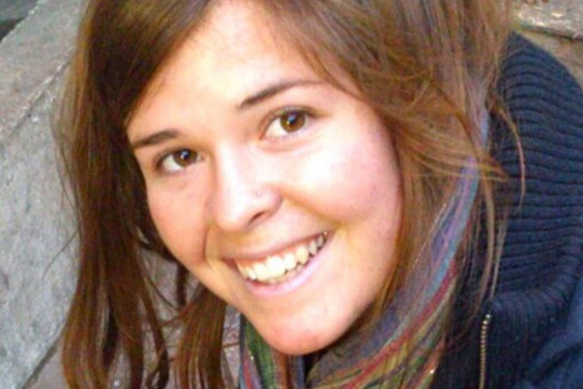 Kayla Jean Mueller, in an image provided to the press via her family.
