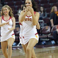 USC Song Girls.