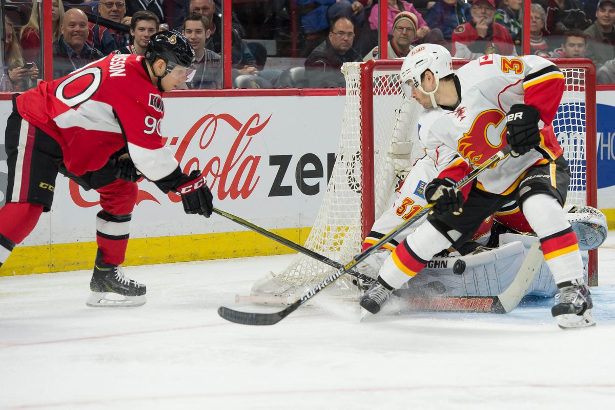 Chiasson needs to make his living around the net by using his size to get there