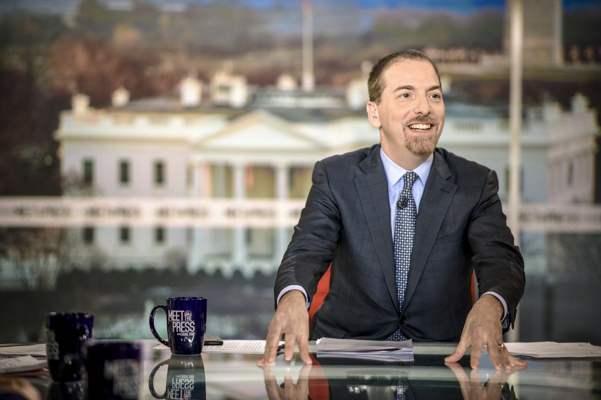Full Transcript Meet The Press Moderator Chuck Todd On Recode Brain Made Of Glass And Circuit Board Stock Illustration Getty William B Plowman Nbc Newswire Via Images