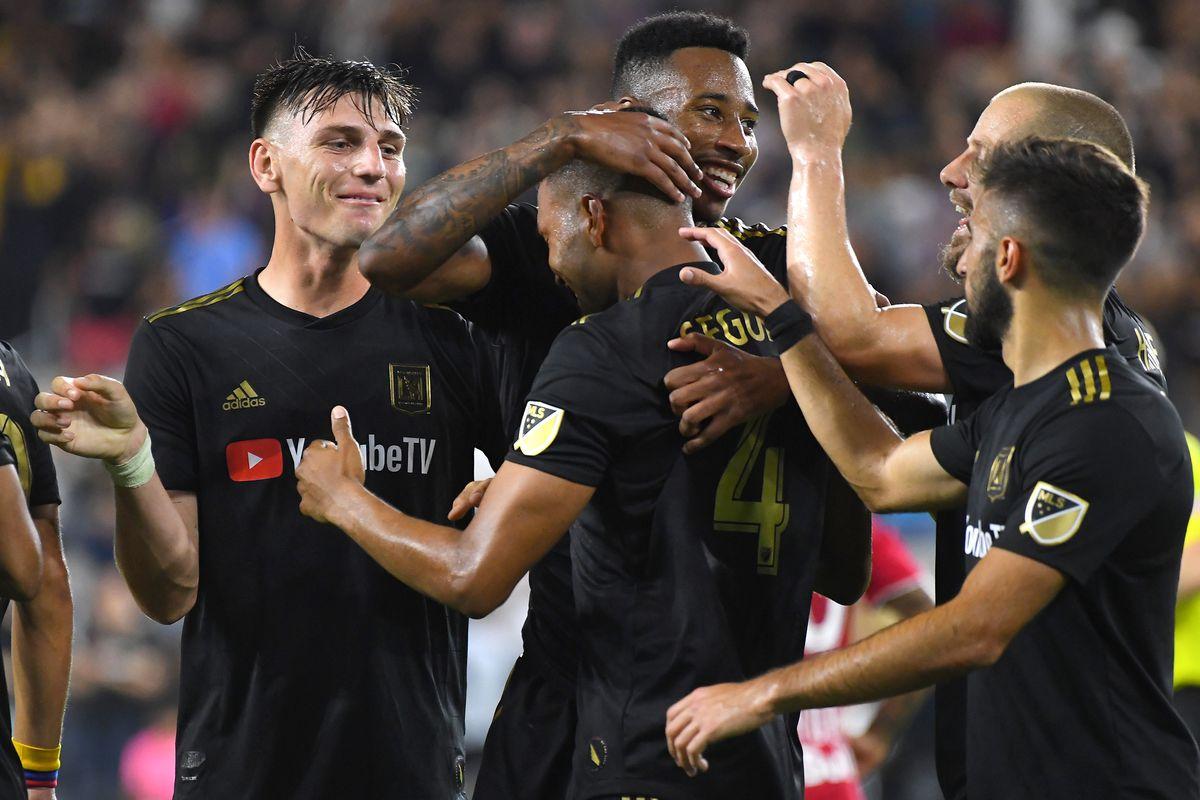 MLS: New York Red Bulls at Los Angeles FC