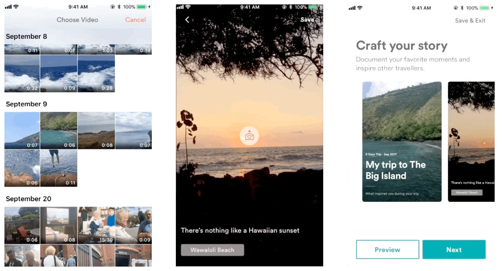 Airbnb's new Travel Stories feature lets people show off