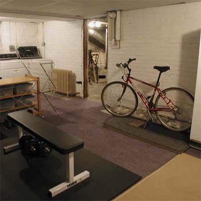 After House Staging: Basement