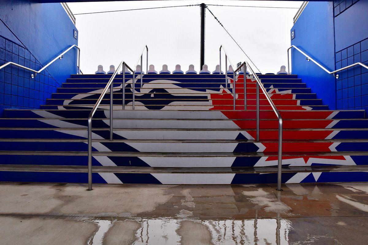 Los Angeles Angels v Toronto Blue Jays