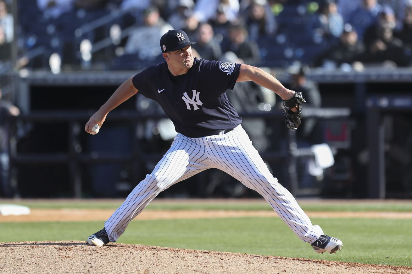 MLB: FEB 29 Spring Training - Tigers at Yankees (ss)
