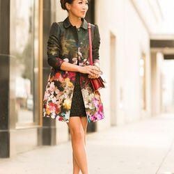 "Wendy of <a href=""http://www.wendyslookbook.com""target=""_blank"">Wendy's Lookbook</a> is wearing a <a href=""http://www.net-a-porter.com/us/en/product/360130?cm_mmc=LinkshareUS-_-QFGLnEolOWg-_-ProductSearch-_-us-_-Coats-_-Floral-print&gclid=CJemmrbL47oCFaU5"