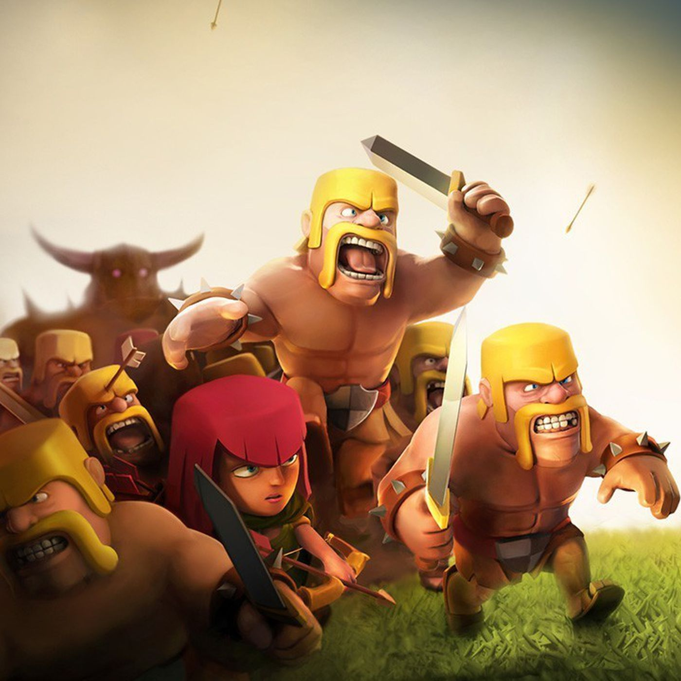 clash of clans theme for pc free download