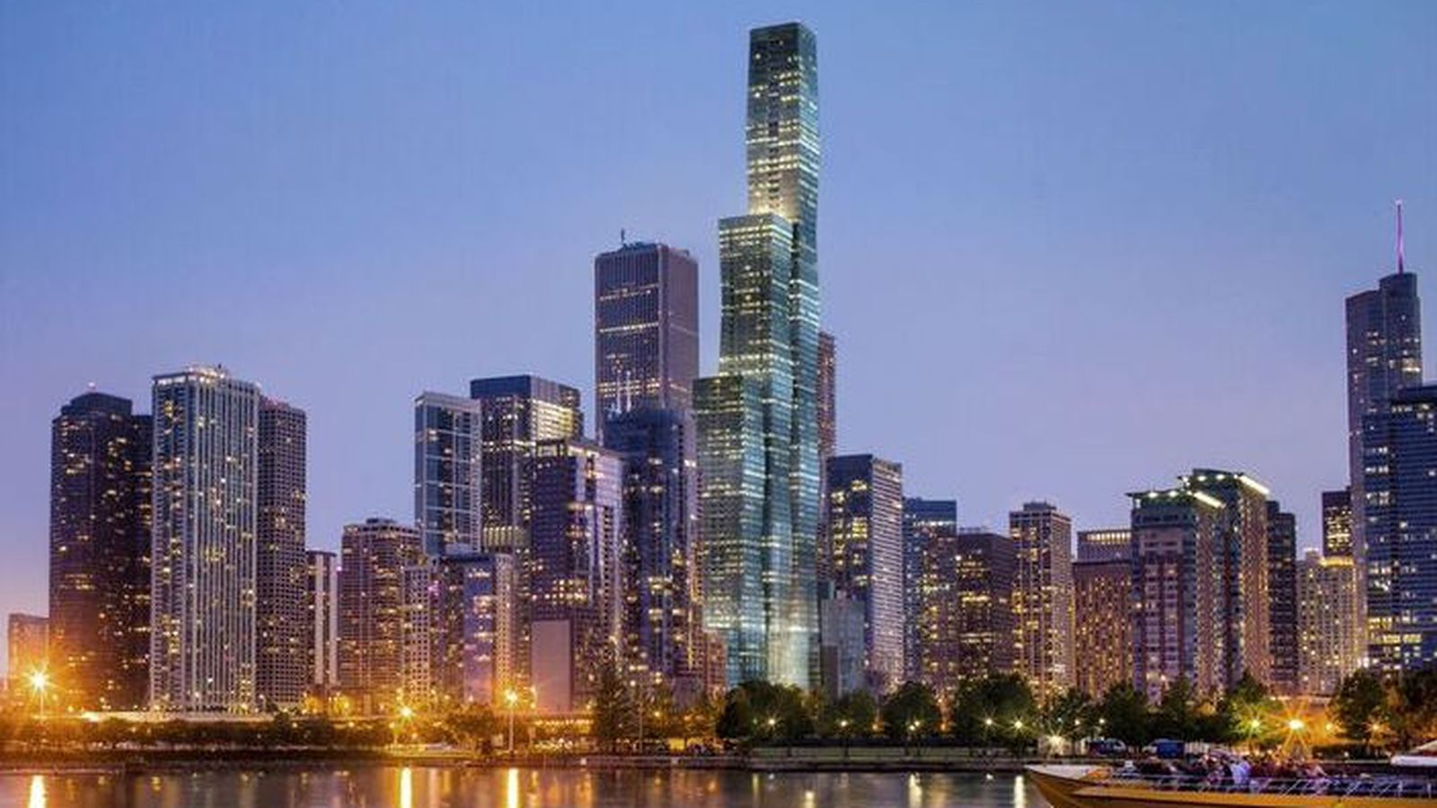 Chicago S Vista Tower Jeanne Gang S 93 Story Supertall