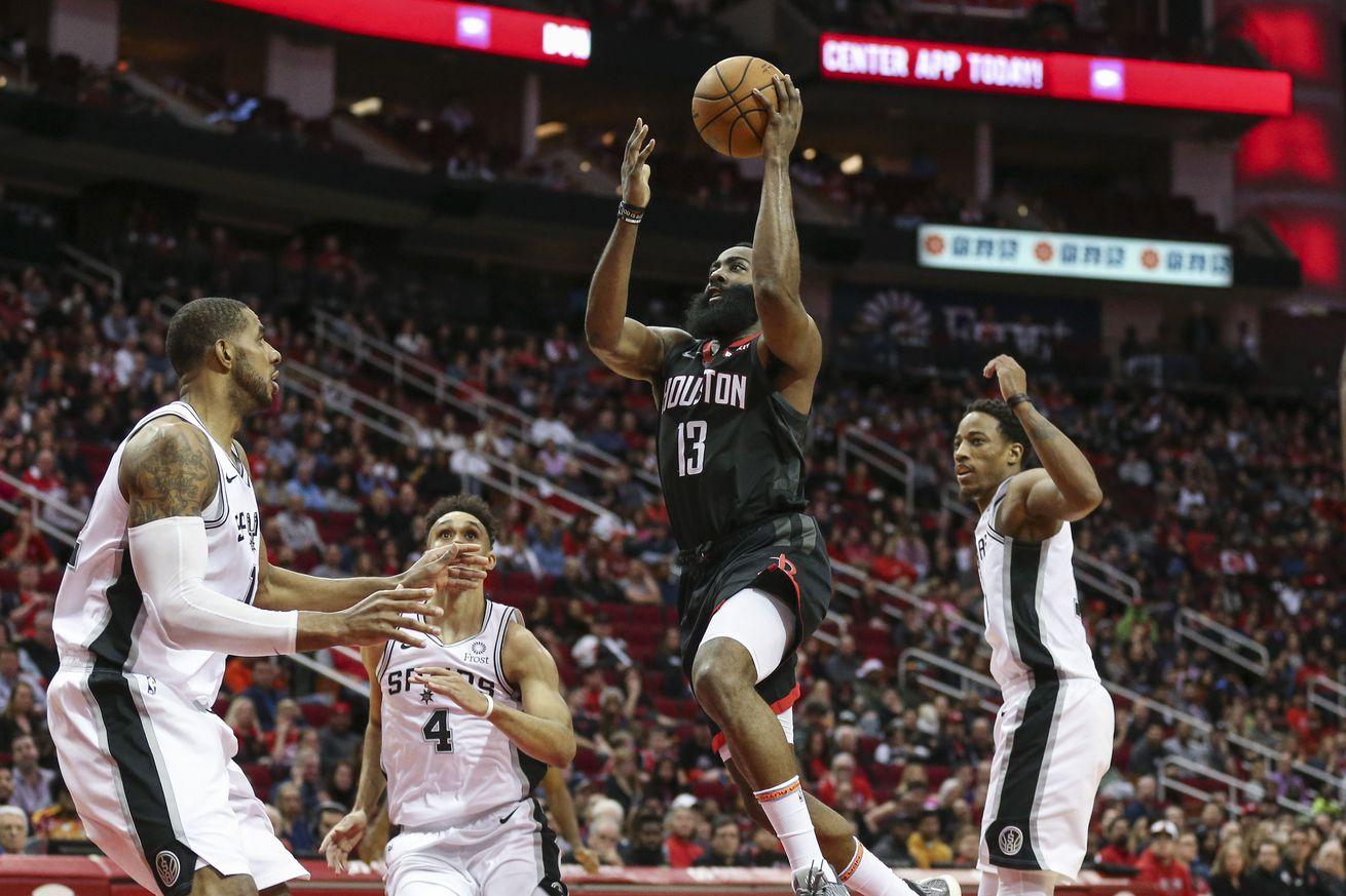 Game Preview: San Antonio Spurs at Houston Rockets