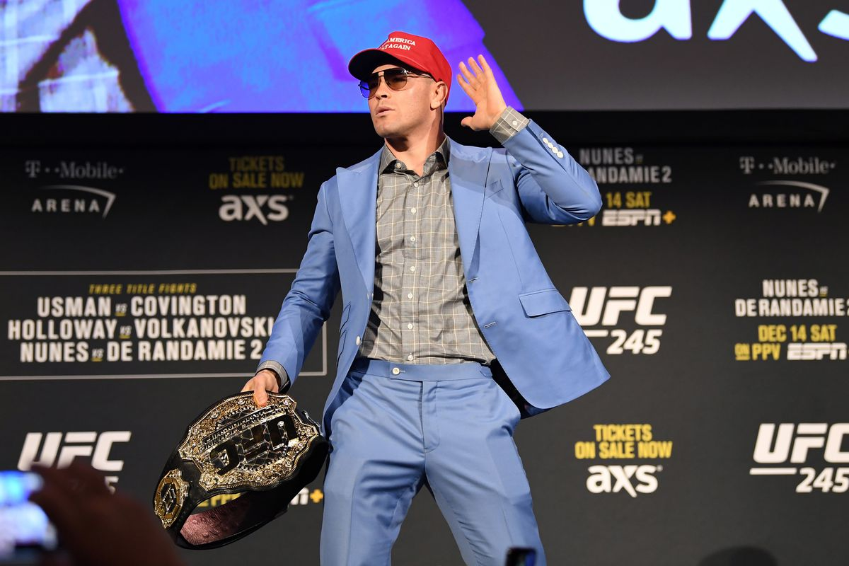 Colby Covington blasts Jorge Masvidal for telling 'blatant lies,' promises to silence 'Street Judas' when they fight - MMA Fighting