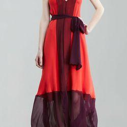 "<b>Haute Hippe</b> colorblock maxi dress, <a href=""http://www.bergdorfgoodman.com/p/Haute-Hippie-Colorblock-Maxi-Dress-5F/prod74960091_cat205700__/?eItemId=prod74960091&searchType=SALE&icid=&rte=%252Fcommon%252Fstore%252Fcatalog%252Ftemplates%252FET1.jhtm"
