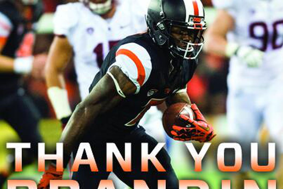 Brandin Cooks had a record setting career at Oregon St.