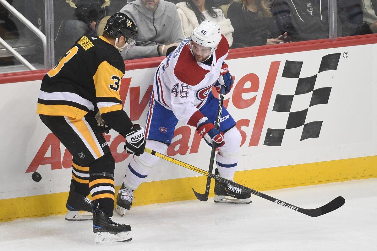 NHL: DEC 10 Canadiens at Penguins