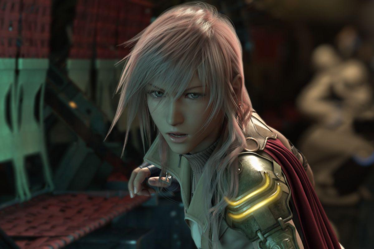 Lightning from Final Fantasy 13