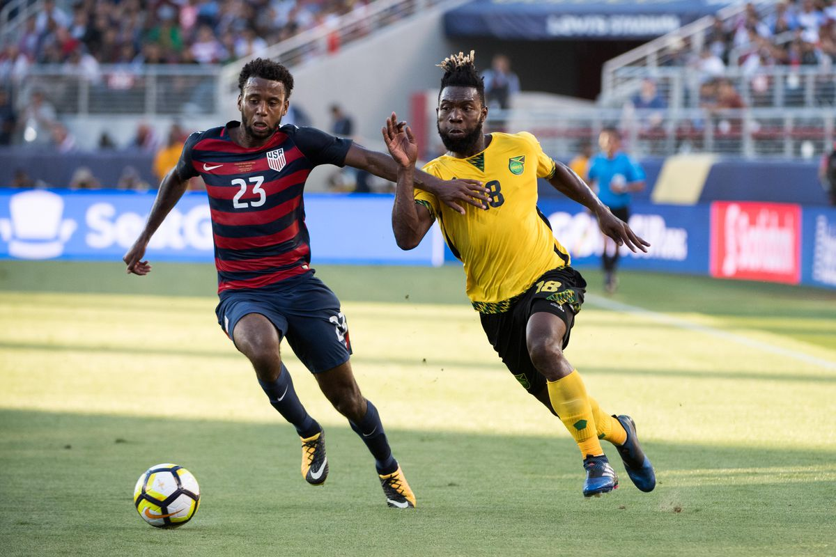 Soccer: 2017 CONCACAF Gold Cup -USA  at Jamaica