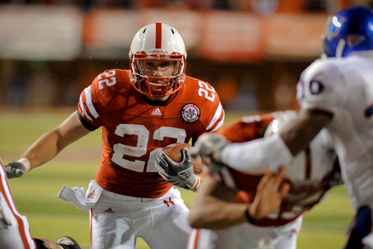Rex Burkhead, the plumber of the team. He ain't the shit, but he sure makes sure it flows right.