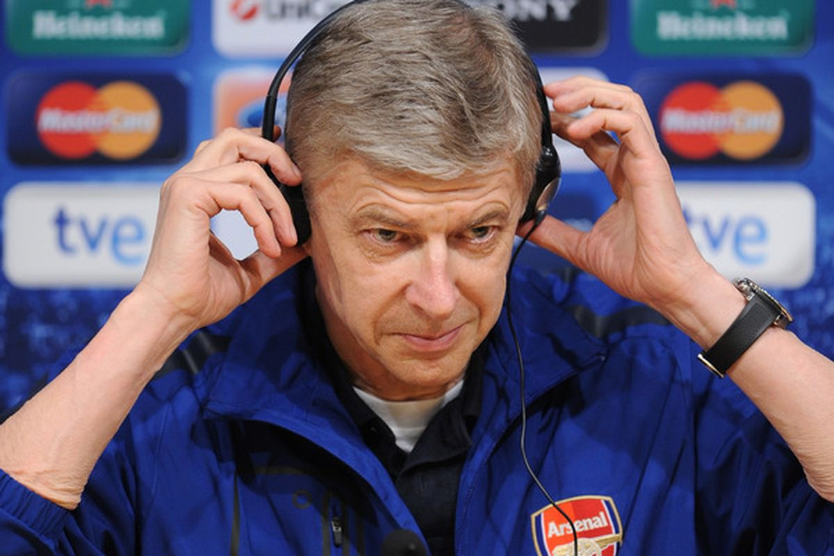 I went ahead and sent Arsene the first demo of Fusillade, he said it had little bit chance of starting at fullback against QPR