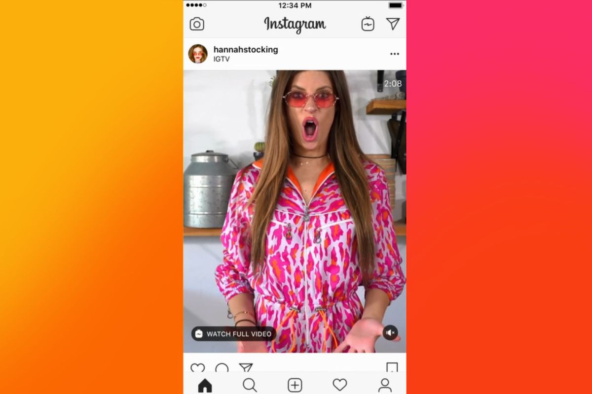 Instagram Is Putting IGTV Previews In Your Main Feed