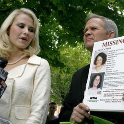 Elizabeth Smart and her father, Ed, will continue to speak out for missing children. Smart speaks at the Federal Courthouse after the sentencing of Brian David Mitchell in Salt Lake City on Wednesday, May 25, 2011.
