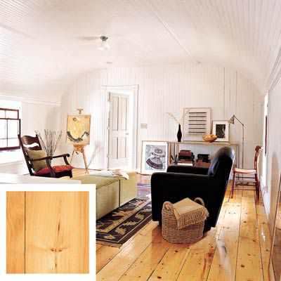 White Pine Wood Floor