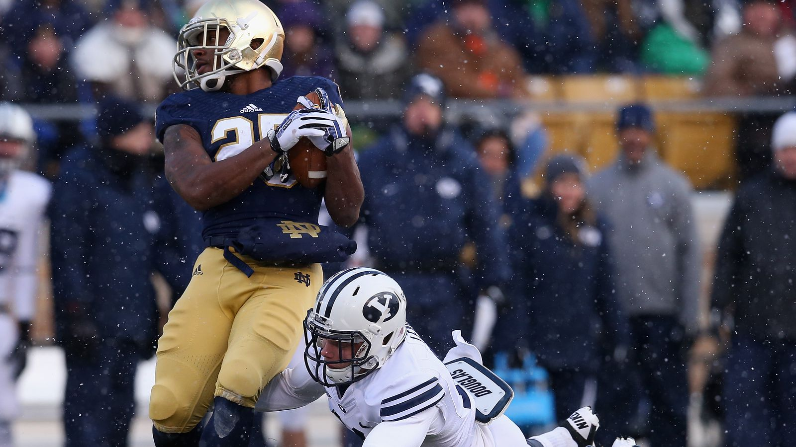 Notre Dame Football: Irish Game At BYU Looking Increasingly Unlikely - One Foot Down