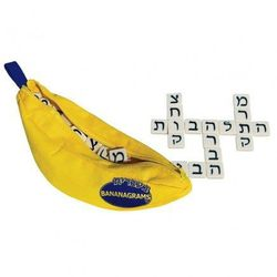 """For your dad (who is equal parts traditional and eccentric), <b>Bananagrams: Hebrew</b>, <a href=""""http://www.module-r.com/shop/accessories/tabletop-and-grownup-play/bananagrams-hebrew.html#"""">$21</a> at <b>Module R</b>"""