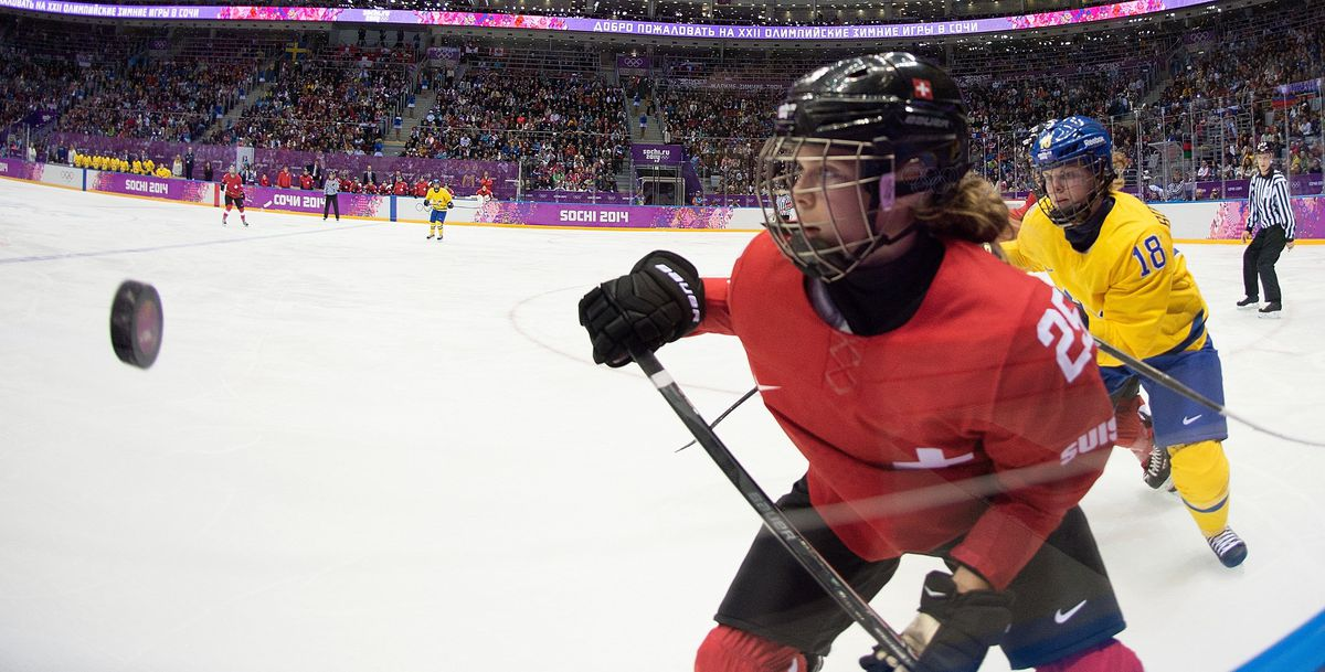 Sweden vs. Switzerland Women's Ice Hockey