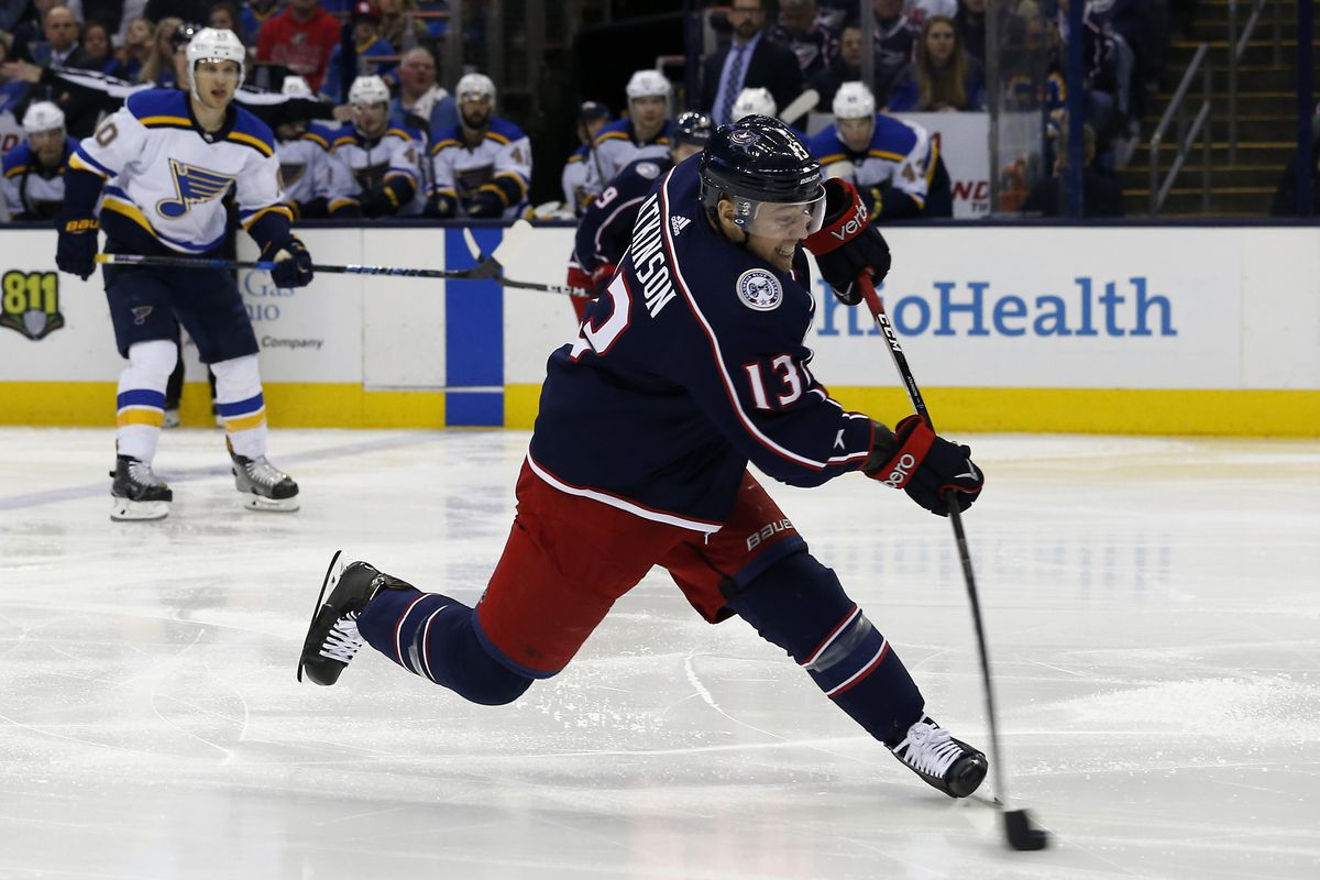 NHL: St. Louis Blues at Columbus Blue Jackets